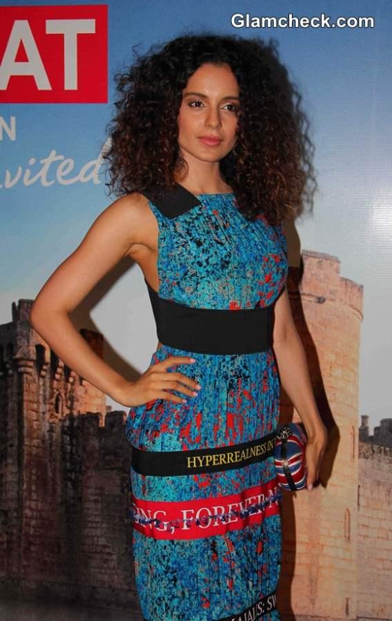 Kangana Ranaut Launches Bollywood in Britain App