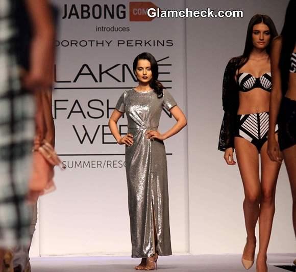 Kangana Ranaut for Jabong at LFW S-R 2014