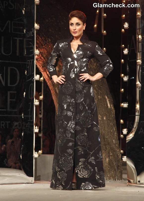 Kareena Kapoor for Rajesh Pratap Singh LFW 2014 Summer-Resort Finale