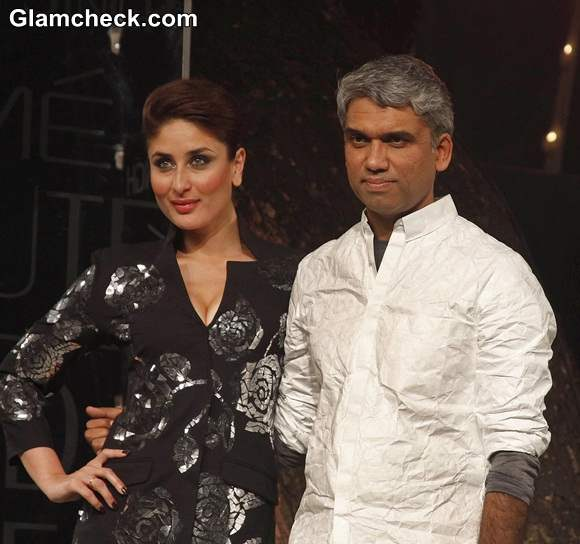 Kareena Kapoor for Rajesh Pratap Singh at LFW 2014 Summer-Resort Finale