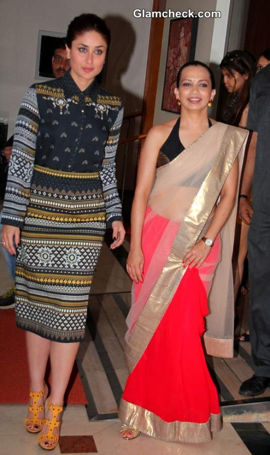 Kareena Kapoor with Author Rujuta Diwekar