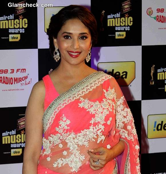 Madhuri Dixit 2014 at Mirchi Music Awards