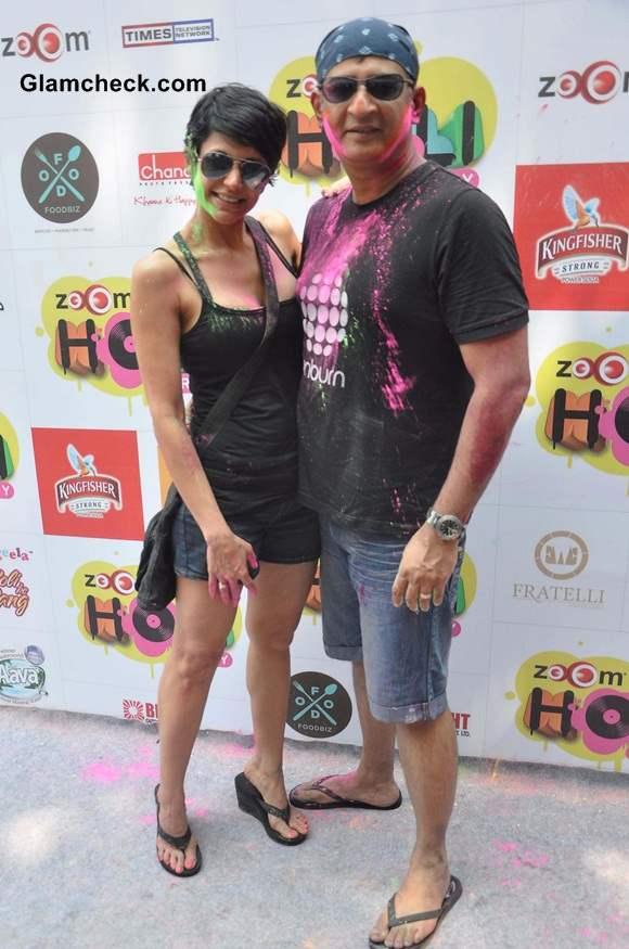 Mandira Bedi along with her husband and filmmaker Raj Kaushal