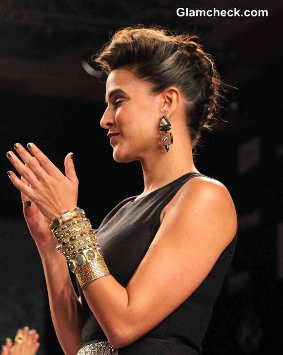Neha Dhupia at LFW S-R 2014
