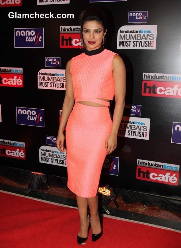 Priyanka Chopra at HT Most Stylish Awards 2014