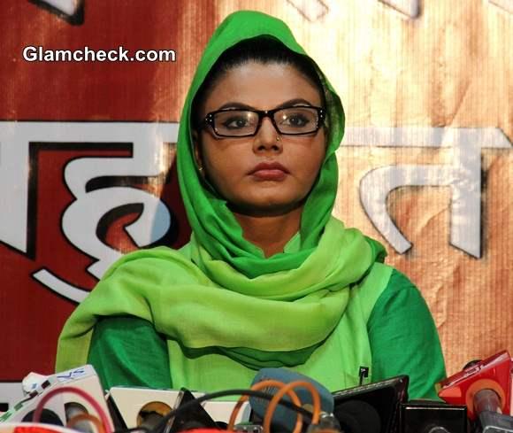 Rakhi Sawant 2014 Contesting Lok Sabha Elections