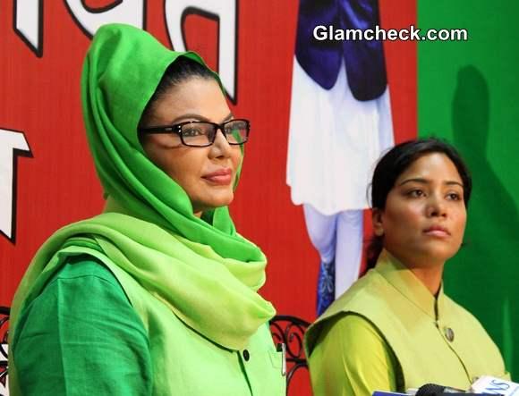 Rakhi Sawant Contesting Lok Sabha Elections pics