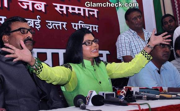 Rakhi Sawant Launches Rashtriya Aam Party