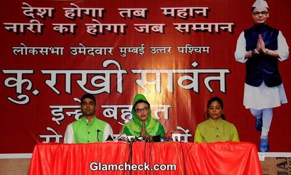 Rakhi Sawant for Lok Sabha Elections