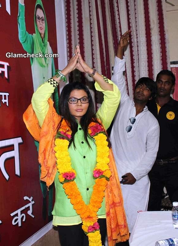 Rakhi Sawant forms Rashtriya Aam Party