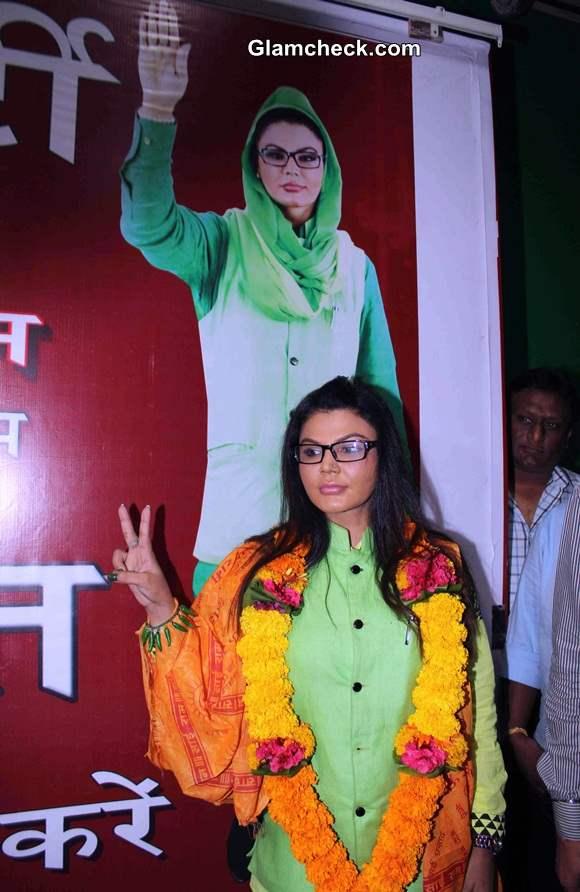 Rakhi Sawants Rashtriya Aam Party