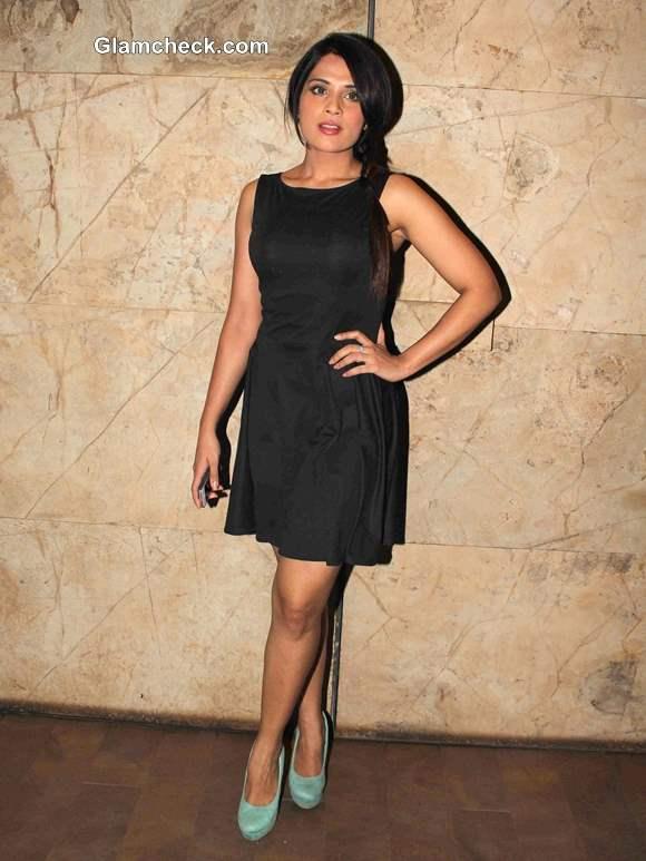 "Richa Chadda at Special Screening of ""Queen"""