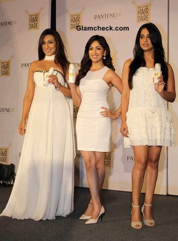 Rituparna Yami and Mahi Launch New Improved Pantene