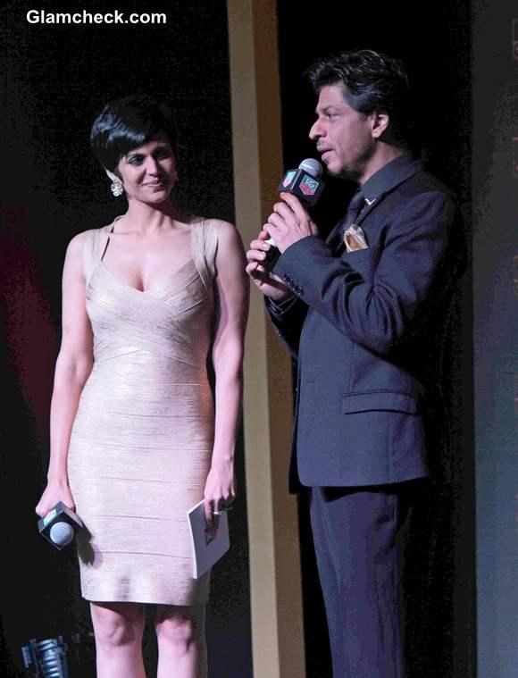 Shah Rukh Khan and Mandira Bedi