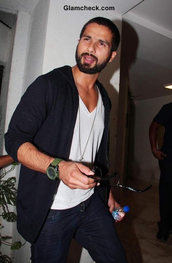 Shahid Kapoors New Look 2014