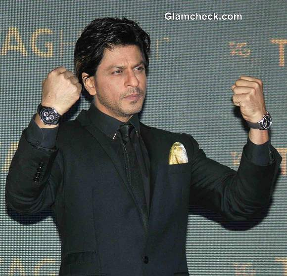 Shahrukh Khan Unveils Tag Heuers Carrera Gold Watch Collection