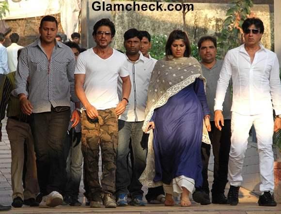 Sharukh Khan at Bobbys Funeral