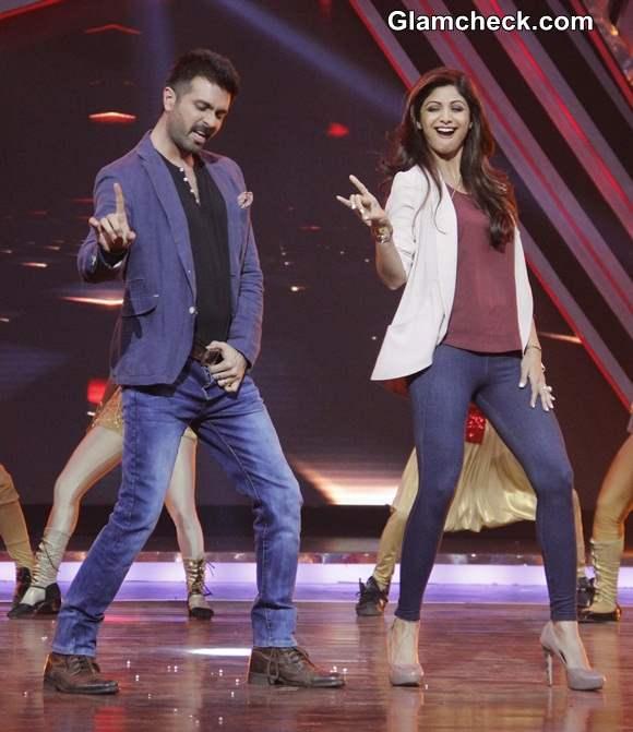 Shilpa Shetty Harman Baweja Promote Dishkiyaoon on Boogie Woogie