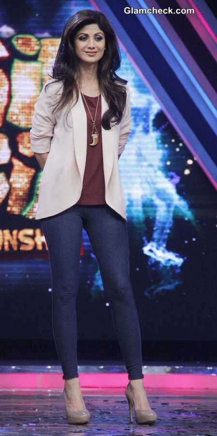 Shilpa Shetty  Promotes Dishkiyaoon on Boogie Woogie