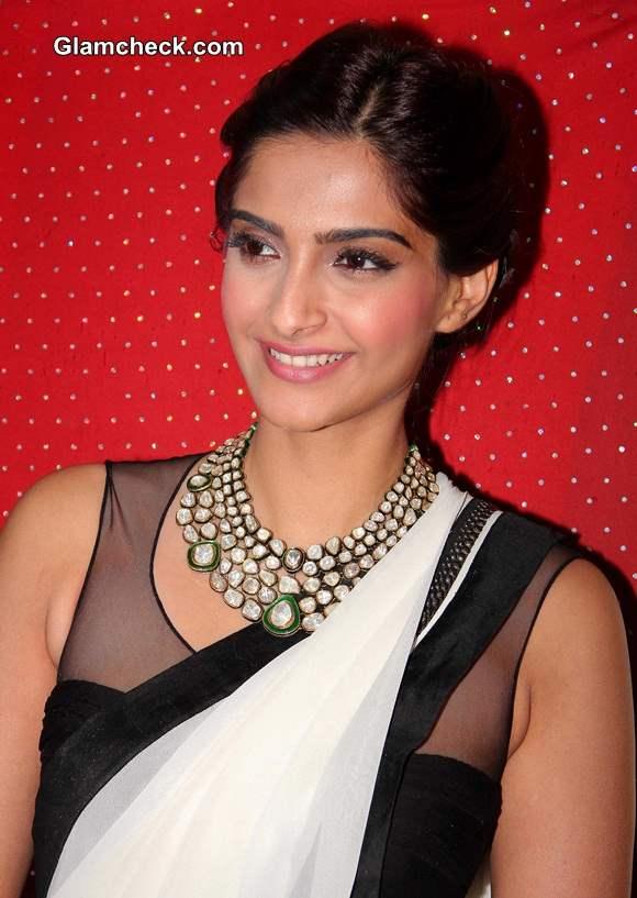 Sonam Kapoor 2014 in Sari