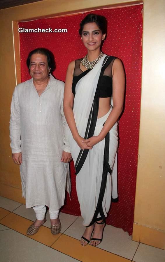 Sonam Kapoor at Kuchh Dil Ne Kaha Album Launch