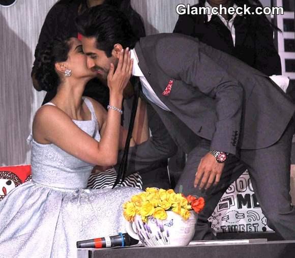 Sonam and Ayushmann in Bewakoofiyan