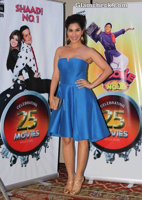 Sophie Choudry 2014 at Vasu Bhagnanis 25th Movie Celebration