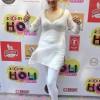 South Indian actor Tanisha Singh 2014 celebrates Holi