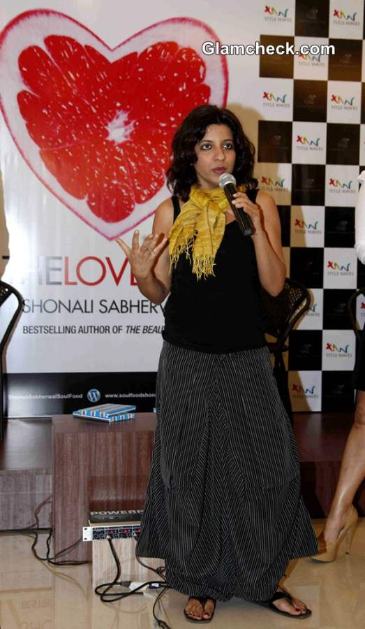 Zoya Akhtar at The Love Diet Book Launch