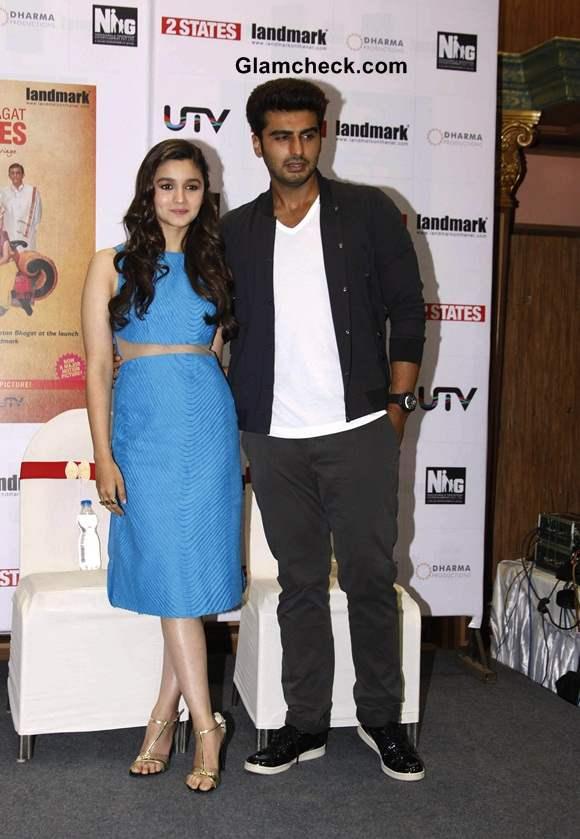 Alia Bhatt and Arjun Kapoor 2014 pics