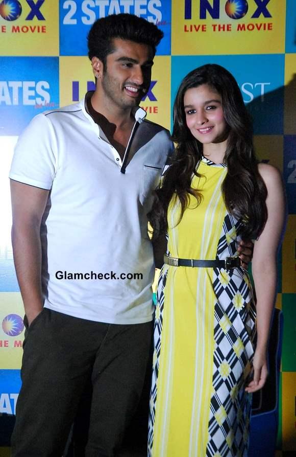 Arjun Kapoor and Alia Bhatt Pictures 2014