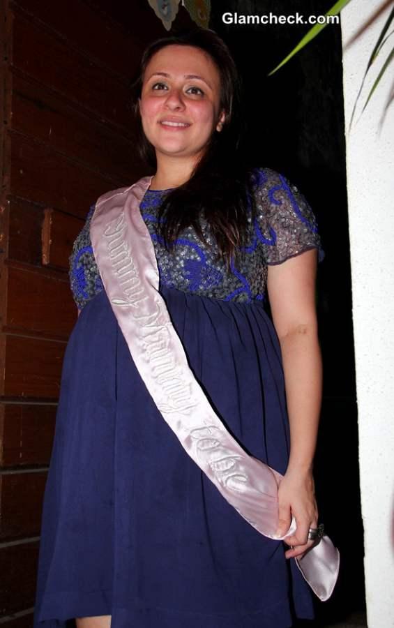 Avantika Malik during her baby shower ceremony
