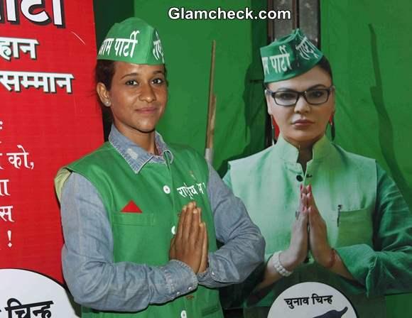 Geeta Tandon Supports Rakhi Sawant Rashtriya Aam Party