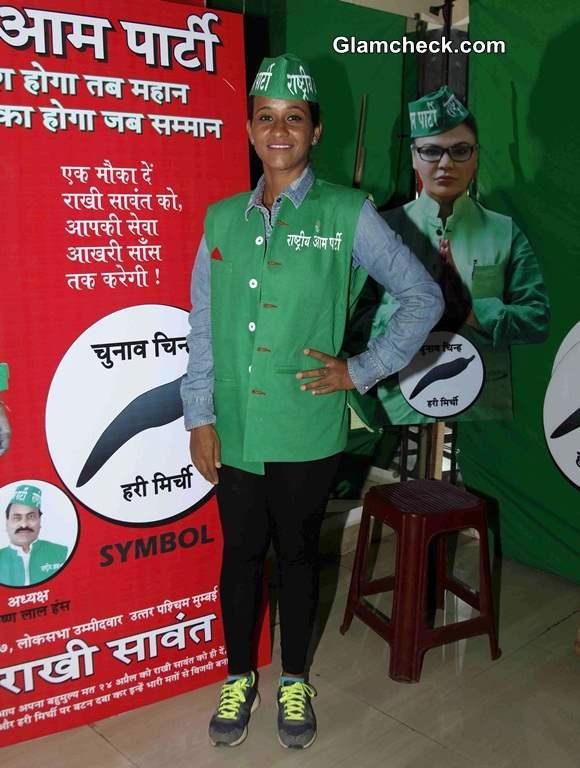 Geeta Tandon Supports Rakhi Sawant and Rashtriya Aam Party