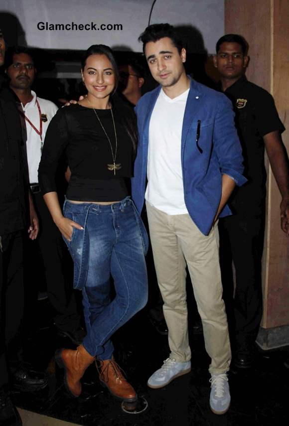 Imran Khan and Sonakshi Sinha Launch Rio 2 Trailer