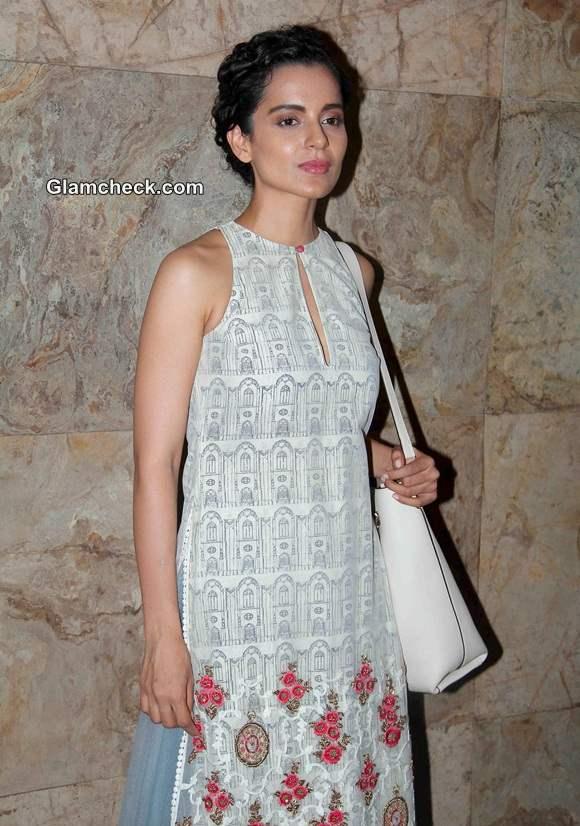 Kangana Ranaut in Anju Modi at Revolver Rani Special Screening