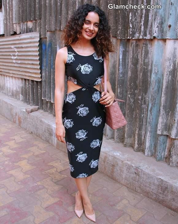 Kangana Ranaut in Masaba Dress at Revolver Rani Press Meet