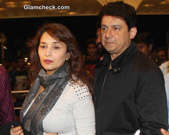 Madhuri Dixit along with her husband Dr Shriram Nene