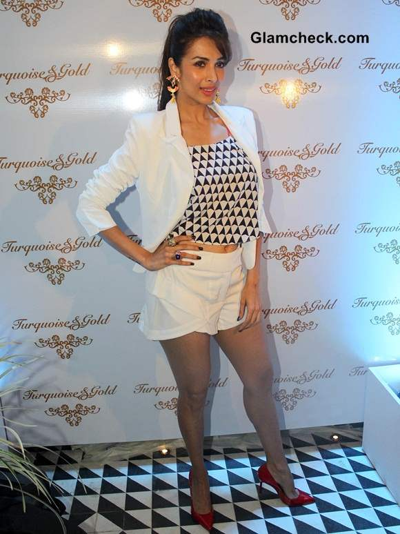 Malaika Arora Khan at Turquoise and Gold Brands Store Launch