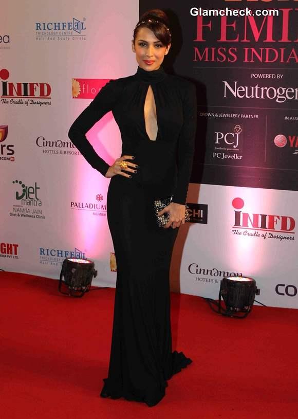 Malaika Arora Khan in Michael Kors at Femina Miss India 2014