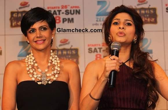 Mandira Bedi and Tanishaa Mukherjee Launch Gangs of Hasseepur