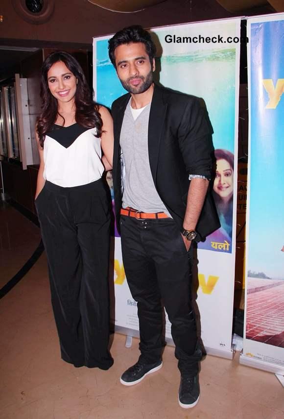Neha Sharma and Jackky Bhagnani