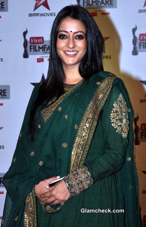 Raima Sen 2014 at First Vivel Filmfare Awards East