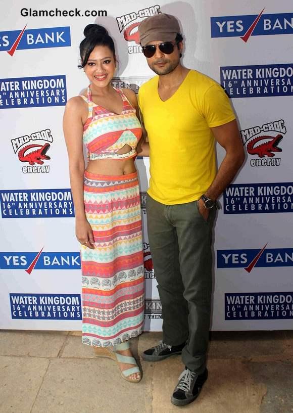 Rajeev Khandelwal and Madalasa Sharma in Samrat Co