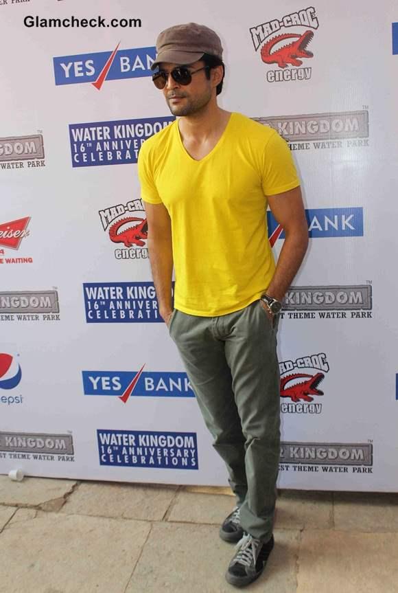 Rajeev Khandelwal in Samrat Co at Water Kingdom
