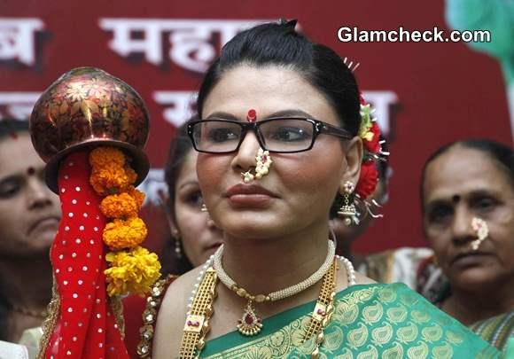 Rakhi Sawant 2014 Rashtriya Aam Party