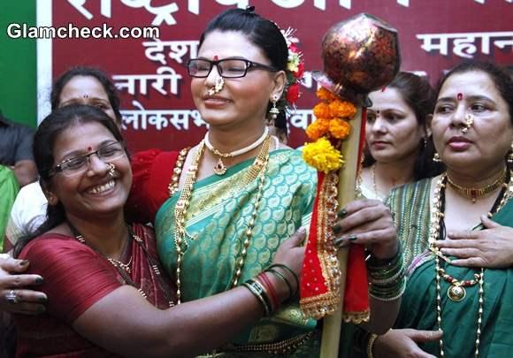 Rakhi Sawant in Rashtriya Aam Party
