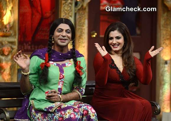 Raveena Tandon 2014 on Mad in India