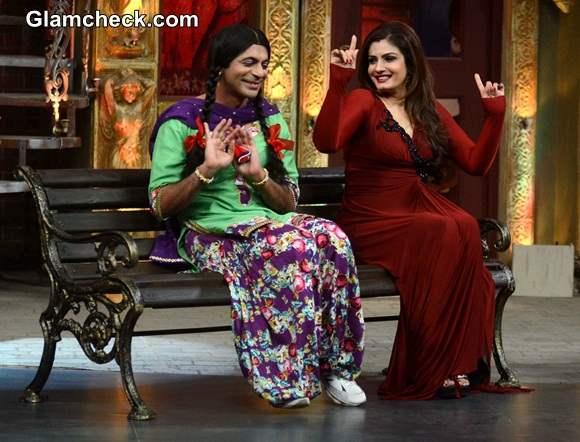 Raveena Tandon on Mad in India