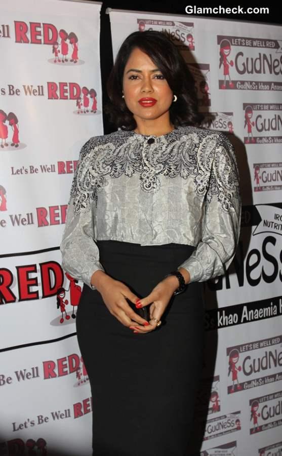 Sameera Reddy 2014 after Marriage